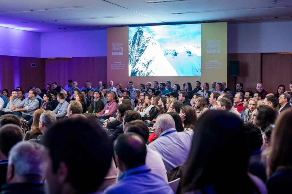 Fotografia de evento Nestle en Palma de Mallorca